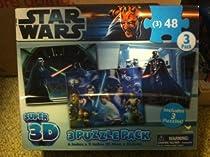 Star Wars Super 3D - 3 puzzle pack - Darth Vader, Luke by Cardinal