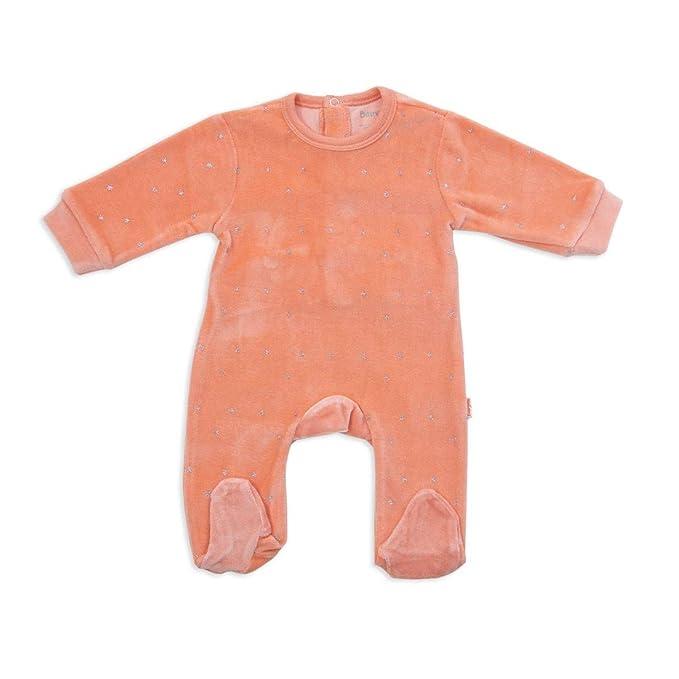 BABY-BOL - Pelele BEBÉ bebé-niños Color: Naranja Talla: 3M