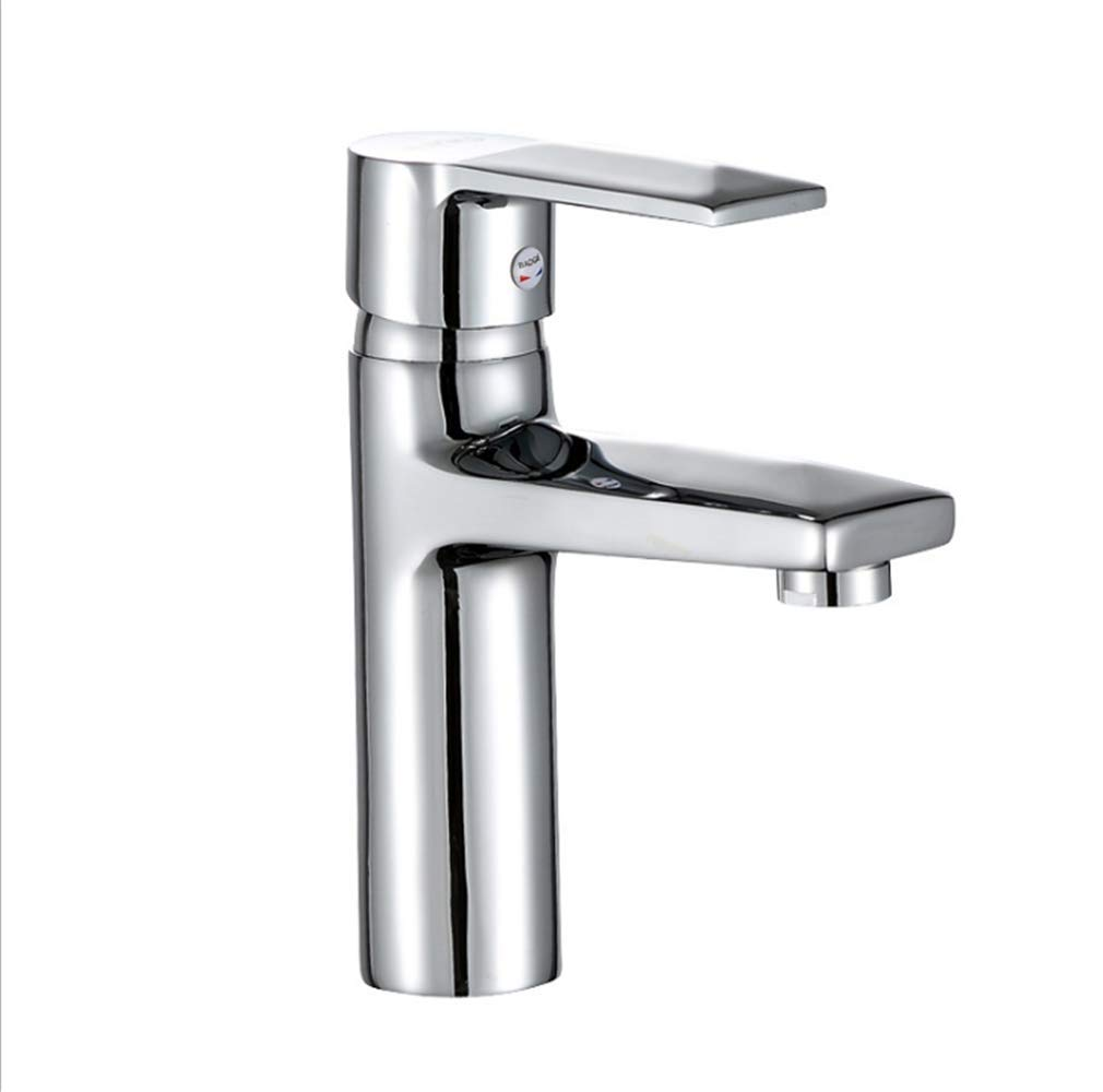 Kitchen Taps Faucet Modern Kitchen Sink Taps Stainless Steelcopper Single Hole Cold and Hot Basin Faucet Platform Basin Faucet