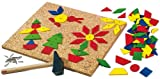 : HABA Geo Shape Tack Zap Large Imaginative Design 100 Piece Set (Made in Germany)