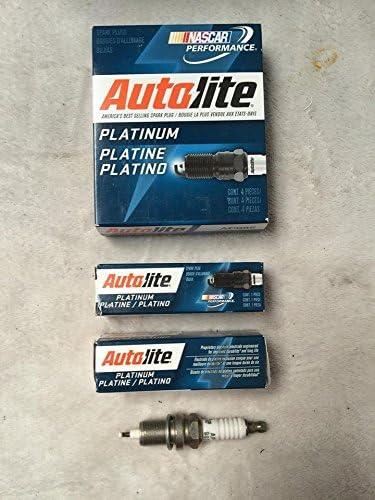 Autolite 6 x Bujías de Encendido Platino 56041402AB Wrangler YJ & TJ 4.0L 1991 – 2006: Amazon.es: Coche y moto