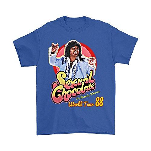 Dealcry Sexual Chocolate Randy Watson Eddy Murphy 1988 World Tour Funny t Shirt