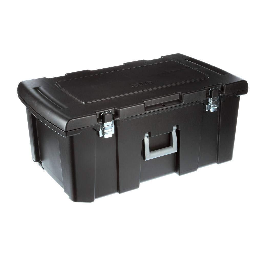 217db2ddbb5f Amazon.com : MRT SUPPLY Large Rolling Footlocker Storage Box Plastic ...