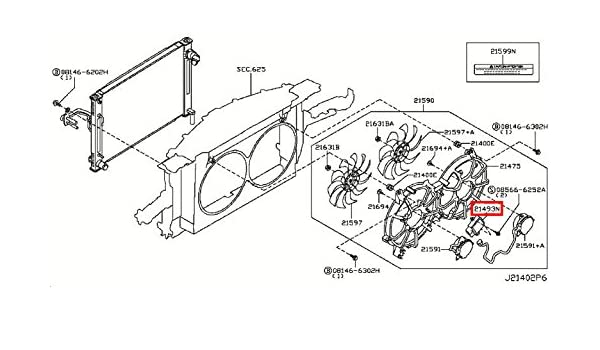 Amazon.com: Infiniti Genuine Radiator Shroud Cooling Fan Control Module  21493-EH10A QX70/FX QX50/EX Q60/G COUPE Q60/G CONVERTIB Q50 M37/56 M35/45 M  HYBR G35/37/25 SEDAN: AutomotiveAmazon.com