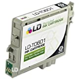 LD © Remanufactured Replacement for Epson T060120 (T0601) Black Pigment Based Ink Cartridge, Office Central