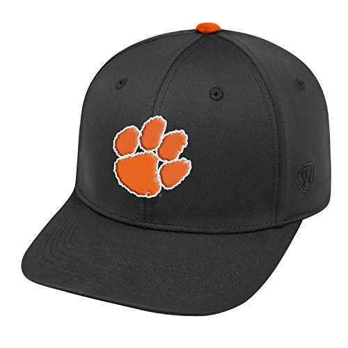 Clemson Tigers Hat (Clemson Tigers Official NCAA One Fit Impact Hat by Top of the World 057132)