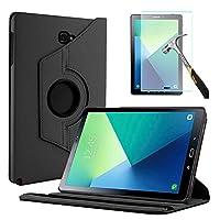 """Capa Giratória Tablet Samsung Galaxy Tab A 10.1"""" SM-P585/P580 + Película de Vidro - Preta"""