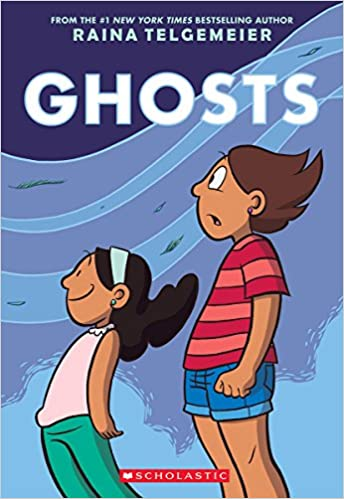 Image result for ghosts by raina telgemeier