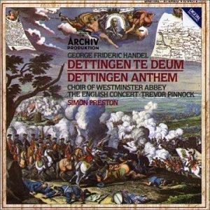 Handel: Dettingen Te Deum; Dettingen Anthem by Archiv Produktion (2001-12-21)