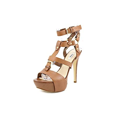 376fc3740f8 Guess Ormandi Open Toe Leather Sandals  Amazon.co.uk  Shoes   Bags