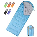 sleeping bag - Emonia Camping Sleeping Bag,Three Season.Waterproof Outdoor Hiking Backpacking Sleeping Bag Perfect 20 Degree Traveling,Lightweight Portable Envelope Sleeping Bags Adults,Girls Boys