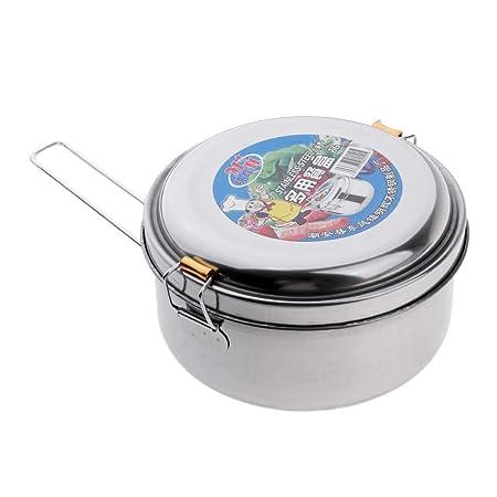 Fiambrera acero inox lunchbox Inoxibar diametro 14cm