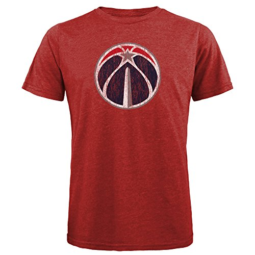 NBA Washington Wizards Men's Premium Triblend Crew Tee, X-Large, Red – DiZiSports Store