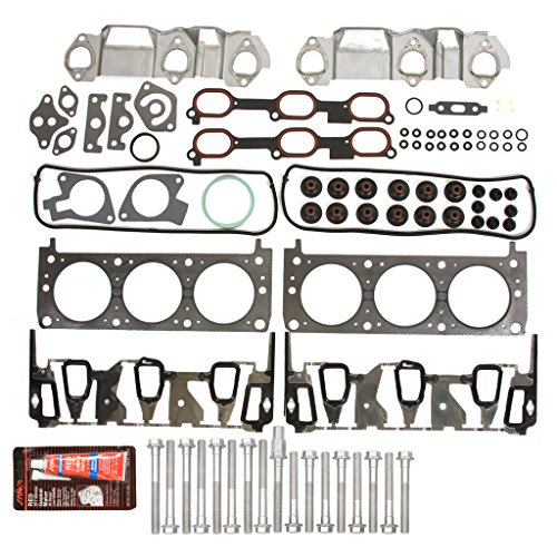 Evergreen HSHB8-10401HP Cylinder Head Gasket Set Head Bolt (1999 Pontiac Grand Am Head Gasket Replacement)