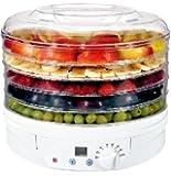 Digital Food Dryer & Dehydrator - Fruit Dehydrater with Digital temperature control & Timer