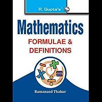 Mathematics Formulae & Definitions