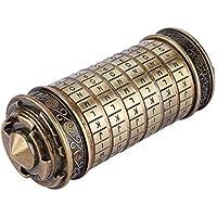 Hongzer Da Vinci Code Cryptex-slot, Da Vinci Code Cryptex cijferslot, romantisch geschenk met accessoires, cilinderslot…