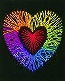 Dimensions Crafts 72-74203 Yarn Art Heart