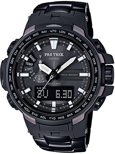 CASIO Men's watches PROTREK Triple Sensor Ver.3 equipped with the world six stations Solar radio PRW-6100YT-1JF