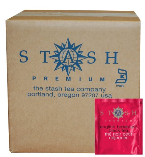 Stash Tea English Breakfast Black Tea, 100 Count