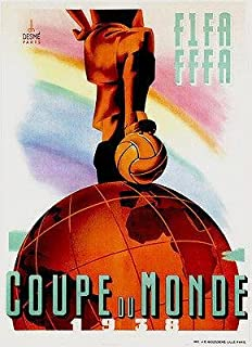 Overig 1934 World Cup Official Poster REPRO