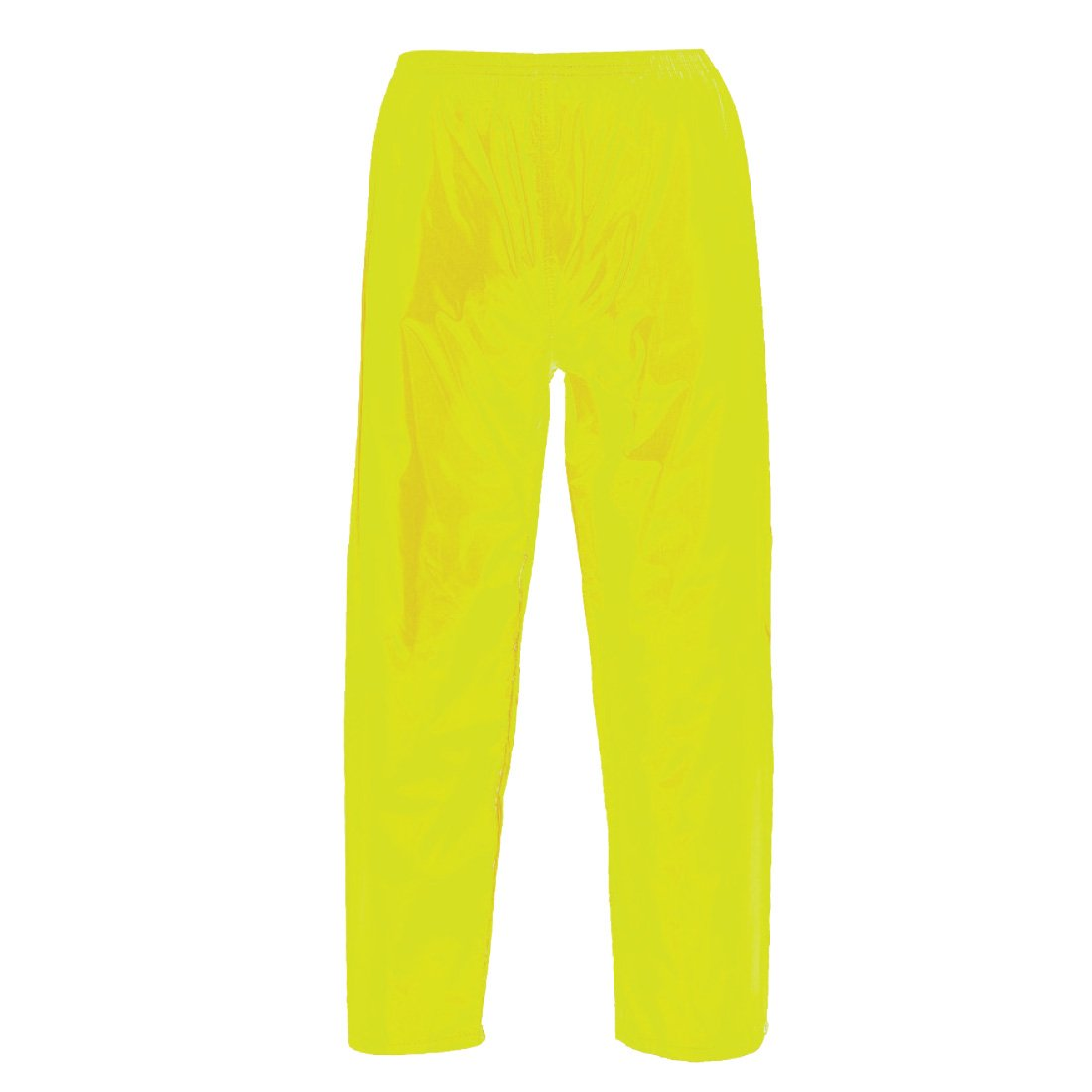 Portwest US441YERS Regular Fit Classic Adult Rain Pants, Small, Yellow