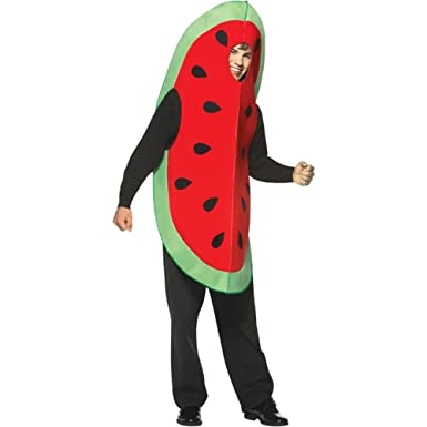 Amazon.com: Rasta Imposta Adult's Watermelon Slice Halloween ...