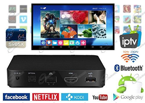 4 opinioni per TV Box Android S905X, è Wireless e Bluetooth, con uscita video UHD 4K: lettore