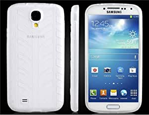 Tire Pattern TPU Rubber Protective Case for Samsung Galaxy S4/ I9500 (Transparent)