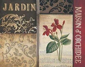 The Poster Corp Kimberly Poloson – Belle Jardin I Kunstdruck (60,96 ...