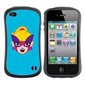 fashion Case for Apple iPhone 5s for kids / Happy Face