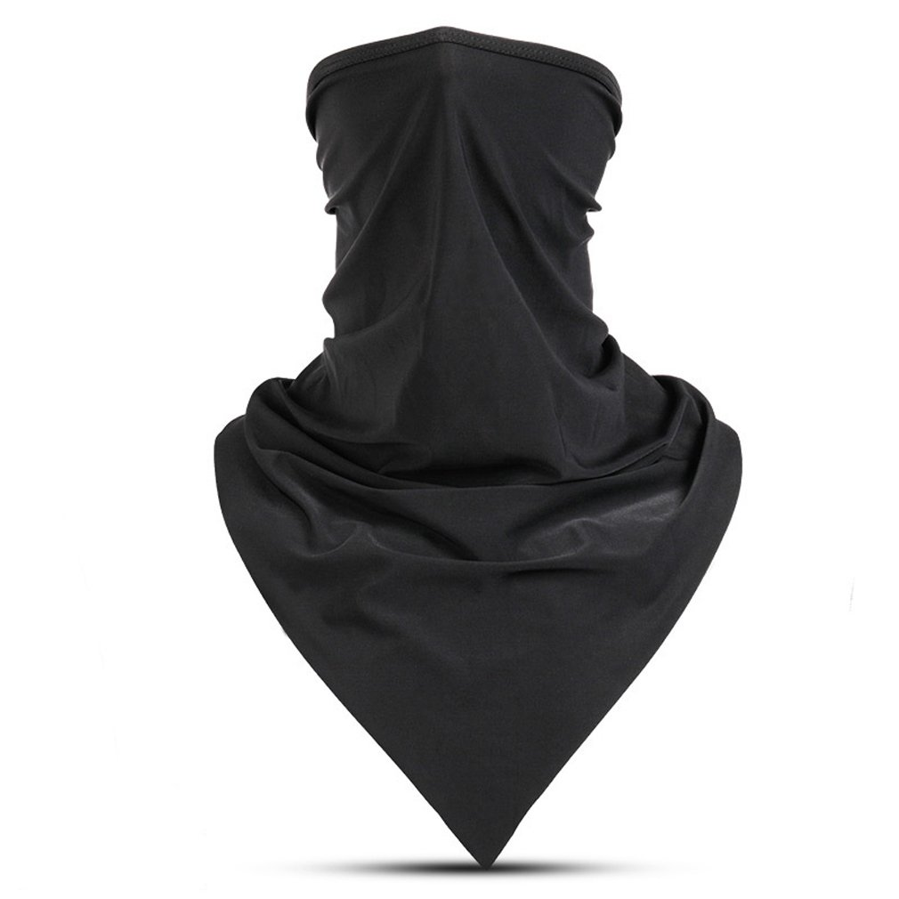 LATFZ Summer Ice Silk Cool Outdoor Headwear Face Mask Performance Moisture Wicking