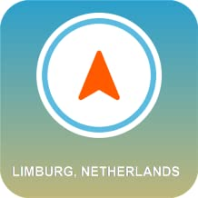 Limburg, Holanda GPS Off-line