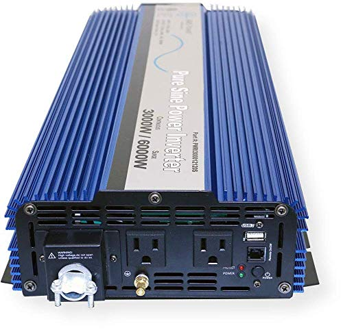 AIMS Power PWRI300012120SUL 3000 Watt Pure Sine Wave Power Inverter, ETL Listed by AIMS Power (Image #3)