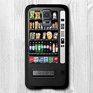 Elfe Boutique for Samsung Galaxy S6 Case Particular Design Vintage Snack Vending Machine Color Print With Black Rim Hard Protective Cover Case for Samsung Galaxy S6