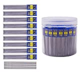 Morepack 840 Pieces Black Lead Refills,0.7 mm HB,Break Resistant Mechanical Pencil Refills,70 Tubes