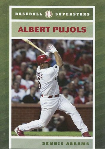 Albert Pujols (Baseball Superstars (Hardcover))