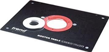 Trend rtiplate router table insert plate rtiplate by trend trend rtiplate router table insert plate rtiplate by trend black keyboard keysfo Image collections