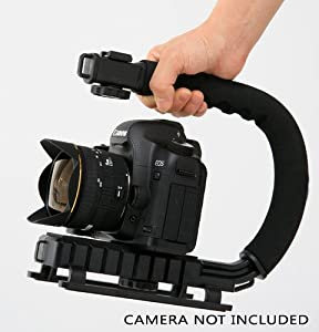 Professional Camera / Camcorder Action Stabilizing Handle For Canon VIXIA HF R700, HF R72, HF R70, Canon VIXIA HF R800 A KIT, HF R82, HF R80, HF G40, HF G30, HF G20 HD Camcorder