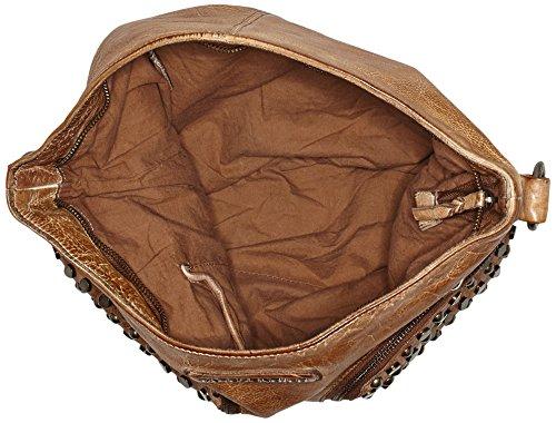 Taschendieb - Td0111ol, Bolsos bandolera Mujer, Marrón, 15x28x39 cm (B x H T)