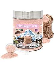 Nortembio Roze Himalayazout 800 g. Extra Fijn (0,5-1 mm). 100% Natuurlijk. Ongeraffineerd. Conserveringsmiddelvrij.