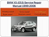 BMW X5 E53 Service Repair Workshop Manual 1999-2006 - Software