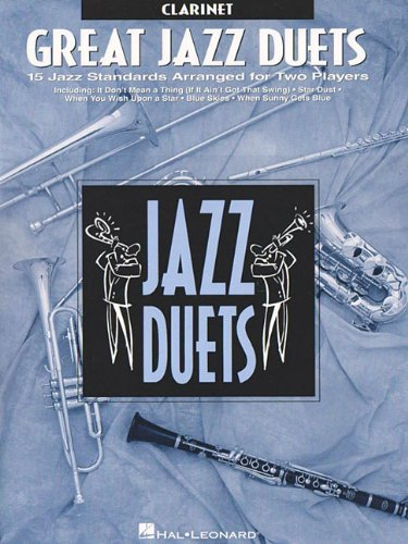 Great Jazz Duets: Clarinet - Hal Leonard Jazz Clarinet