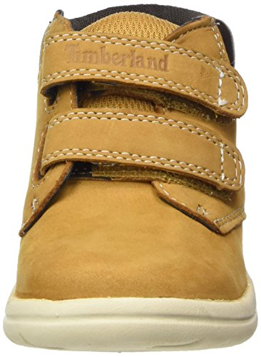 Timberland Unisex Baby Toddle Tracks Hook and Loop Stiefel Braun (Wheat)