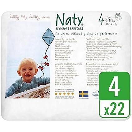 Naty Tamaño 4 bragas pañal 22 por paquete