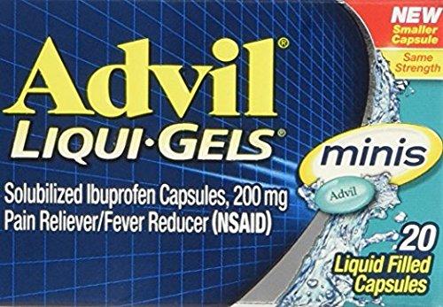 Advil Liqui-Gels Minis Liquid Filled Capsule, 20 Capsules