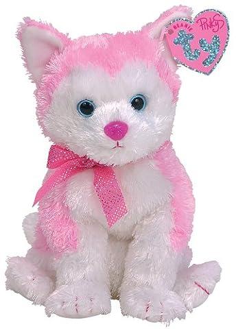 Ty Beanie Baby Pinkys Bonita husky (Ty Stuffed Husky)