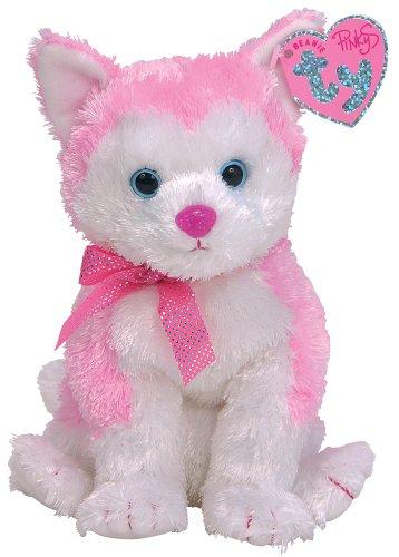 NEW TY Beanie Babies Pinkys Bonita Dog Puppy Plush Stuffed H