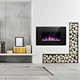 R.W.FLAME Electric Fireplace 30 inch, fit for 2x4