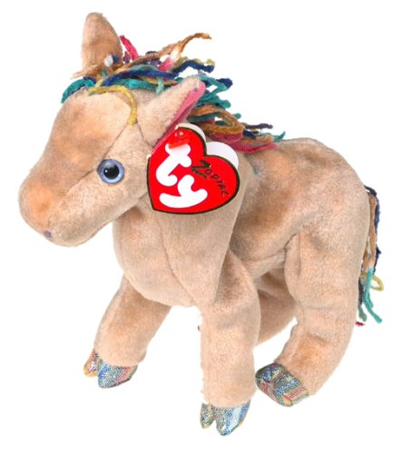 Amazon.com  Ty Beanie Babies the Horse Zodiac  Toys   Games f28c183fd9a